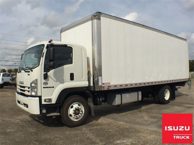 "New 2020 Isuzu FTR DIESEL W/ 26'X103""X102"" DRY FREIGHT BOX and MAXON TE25 48X78 for 102"""