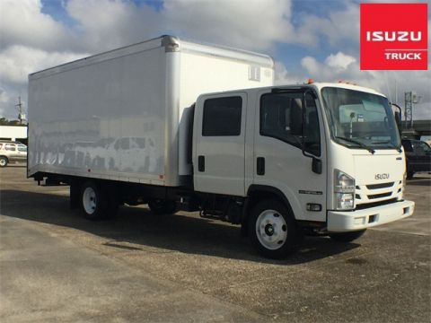 New 2018 Isuzu NPR GAS HD CREW CAB Cab & Chassis Trucks